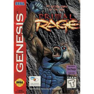 Complete Primal Rage - Genesis