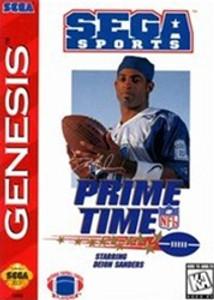 Complete PRIME TIME NFL Football - Genesis