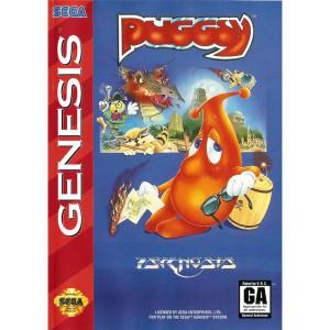 Puggsy Complete Game For Sega Genesis