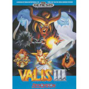 Valis III Video Game For Sega Genesis