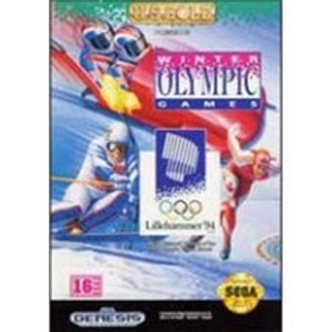Complete Winter Olympic Games Lillehammer '94 Genesis Game