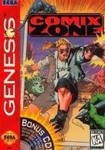 Complete COMIX ZONE - Genesis