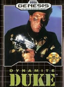 Complete Dynamite Duke - Genesis