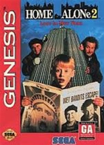 Complete Home Alone 2 - Genesis