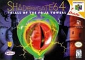 Complete Shadow Gate 64, Trails of The four Towers - N64