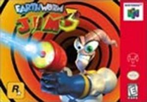Complete Earthworm Jim 3D - N64