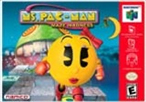 Complete Ms. Pac-Man Maze Madness- N64