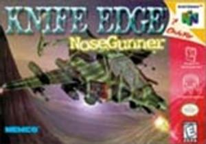 Complete Knife Edge: Nose Gunner - N64