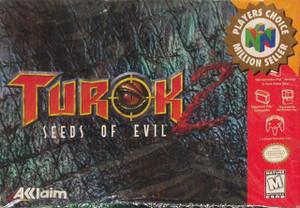 Complete Turok 2 Seeds of Evil PC - N64