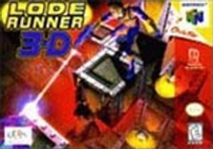 Complete Lode Runner 3D - N64