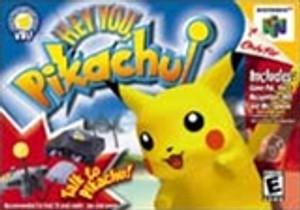 Complete Hey You, Pikachu! - N64
