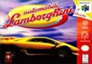 Complete Automobile Lamborghini - N64