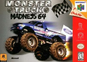 Complete Monster Truck Madness - N64