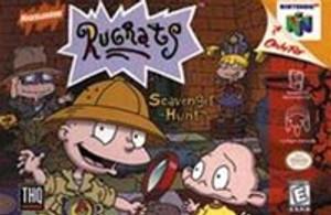 Complete Rugrats: Scavenger Hunt - N64