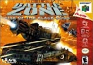 Complete Battle Zone Rise of The Black Dogs 64 - N64