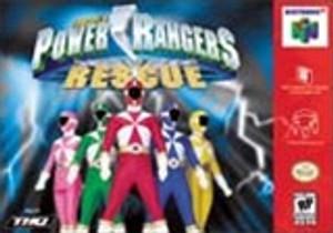 Complete Power Rangers: Lightspeed Rescue - N64