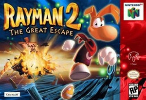 Complete Rayman 2:The Great Escape - N64