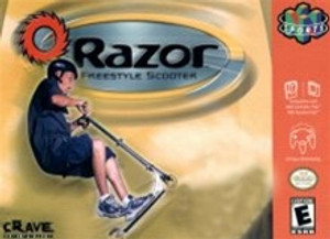 Complete Razor Freestyle Scooter - N64