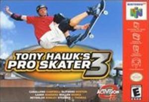 Complete Tony Hawk's Pro Skater 3 - N64