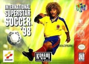 Complete International Superstar Soccer '98 - N64
