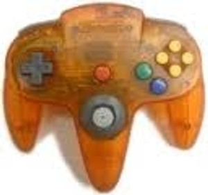 Original Controller Clear Orange - Nintendo 64 (N64)