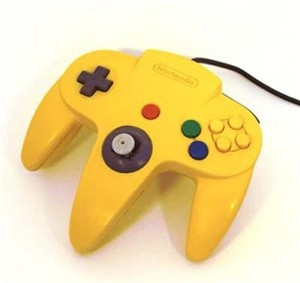 Original Controller Yellow - Nintendo 64 (N64)
