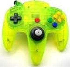 Original Controller Clear Yellow - Nintendo 64 (N64)