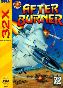 After Burner - 32X Game