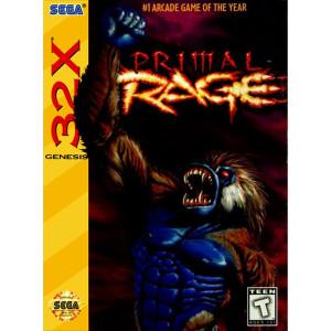Prime Rage Video Game For Sega 32X