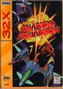 Shadow Squadron - Genesis 32X Game
