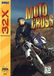 Moto Cross Championship - Genesis 32X Game