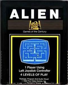 Alien - Atari 2600 Game