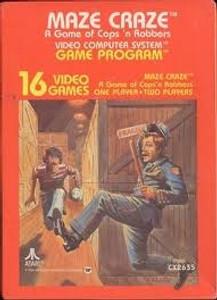 Maze Craze - Atari 2600 Game