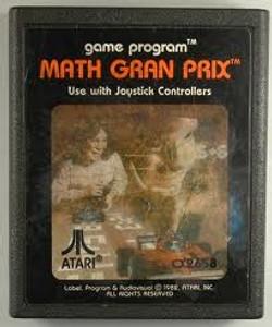 Math Gran Prix - Atari 2600 Game