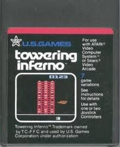 Towering Inferno - Atari 2600 Game