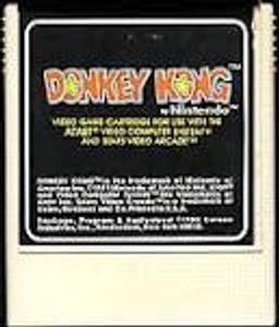 Donkey Kong - Atari 2600 Game