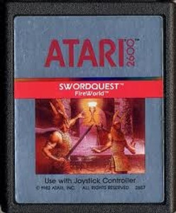 Swordquest Fire World - Atari 2600 Game