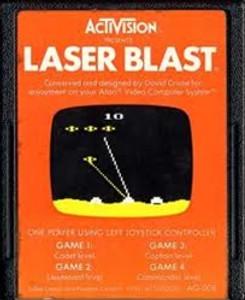 Laser Blast - Atari 2600 Game