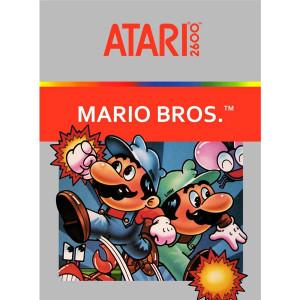 Mario Bros. Video Game For Nintendo Atari 2600