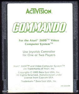 Commando - Atari 2600 Game
