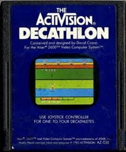 DECATHLON (ACTIVISION) - Atari 2600 Game