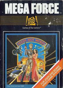MEGA FORCE - Atari 2600 Game