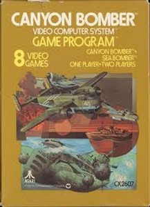 Canyon Bomber - Atari 2600 Game