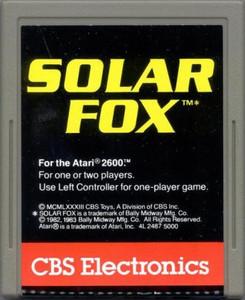 SOLAR FOX - Atari 2600 Game
