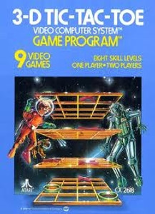 3-D Tic-Tac-Toe - Atari 2600 Game