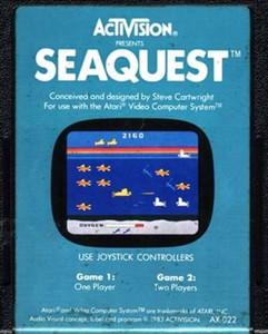 SEAQUEST - Atari 2600 Game