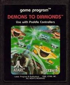 Demons to Diamonds - Atari 2600 Game
