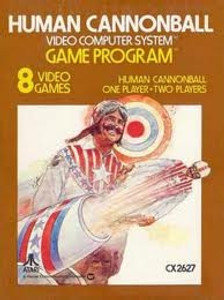 Human Cannonball - Atari 2600 Game