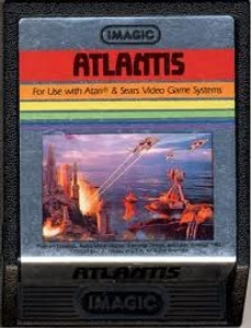 Atlantis - Atari 2600 Game
