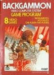 Backgammon - Atari 2600 Game